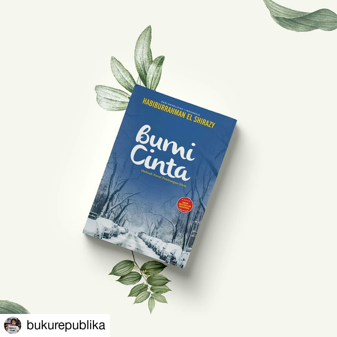 Novel Bumi Cinta Terbit di Republika