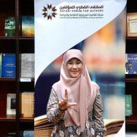 Asma Nadia Tampil di Forum Penulis Qatar